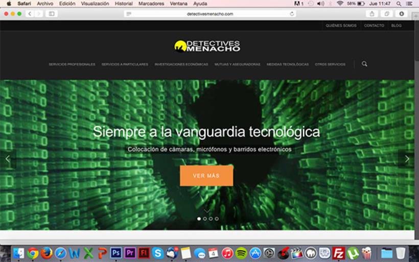 Diseño y desarrollo WEB - Detectives Menacho -1