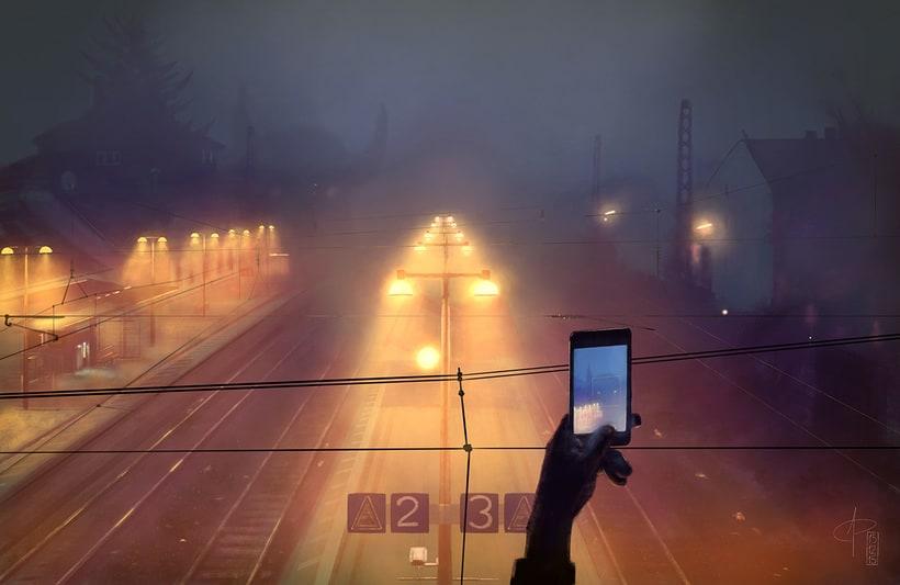 Niebla en la noche 0