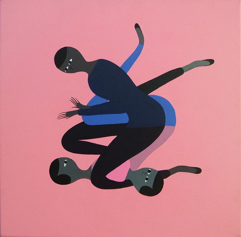 Anatomía minimalista en las pinturas de Santiago Ascui 3