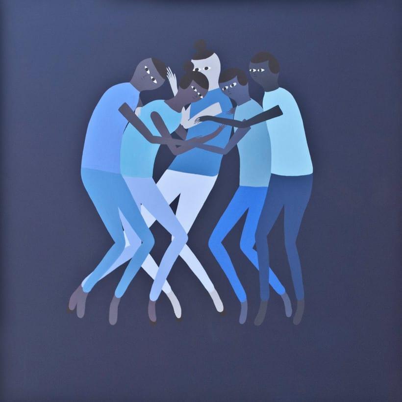 Anatomía minimalista en las pinturas de Santiago Ascui 7