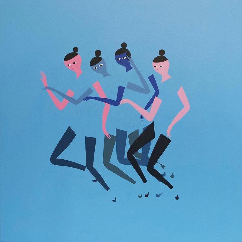 Anatomía minimalista en las pinturas de Santiago Ascui 9