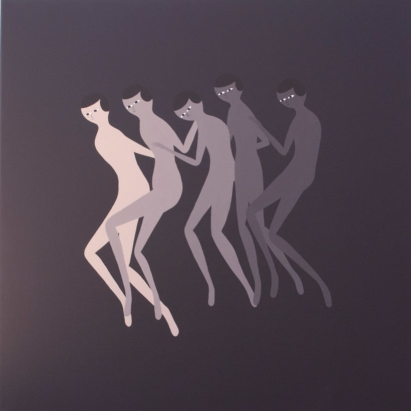 Anatomía minimalista en las pinturas de Santiago Ascui 11