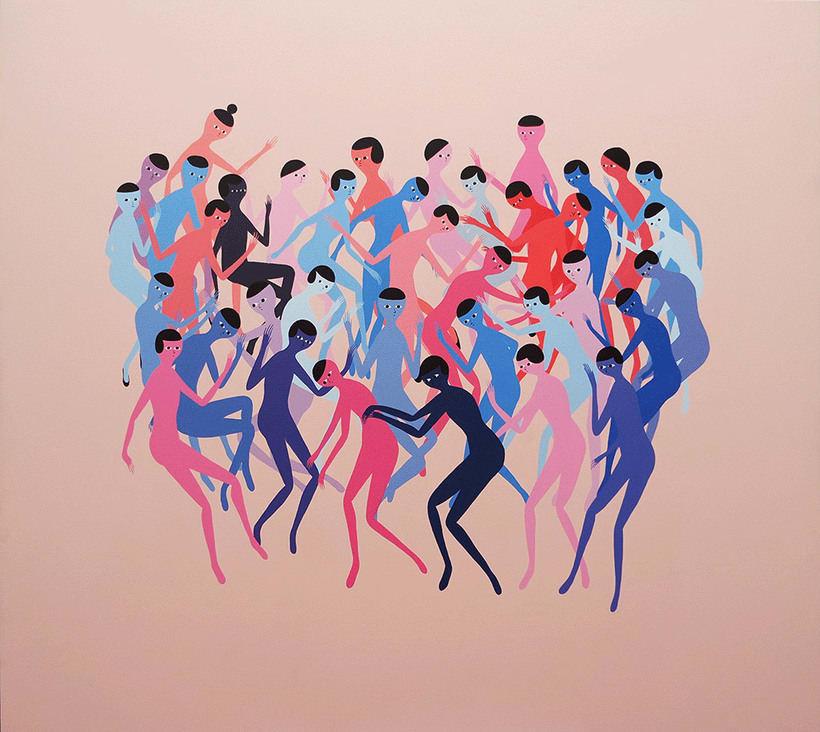 Anatomía minimalista en las pinturas de Santiago Ascui 12
