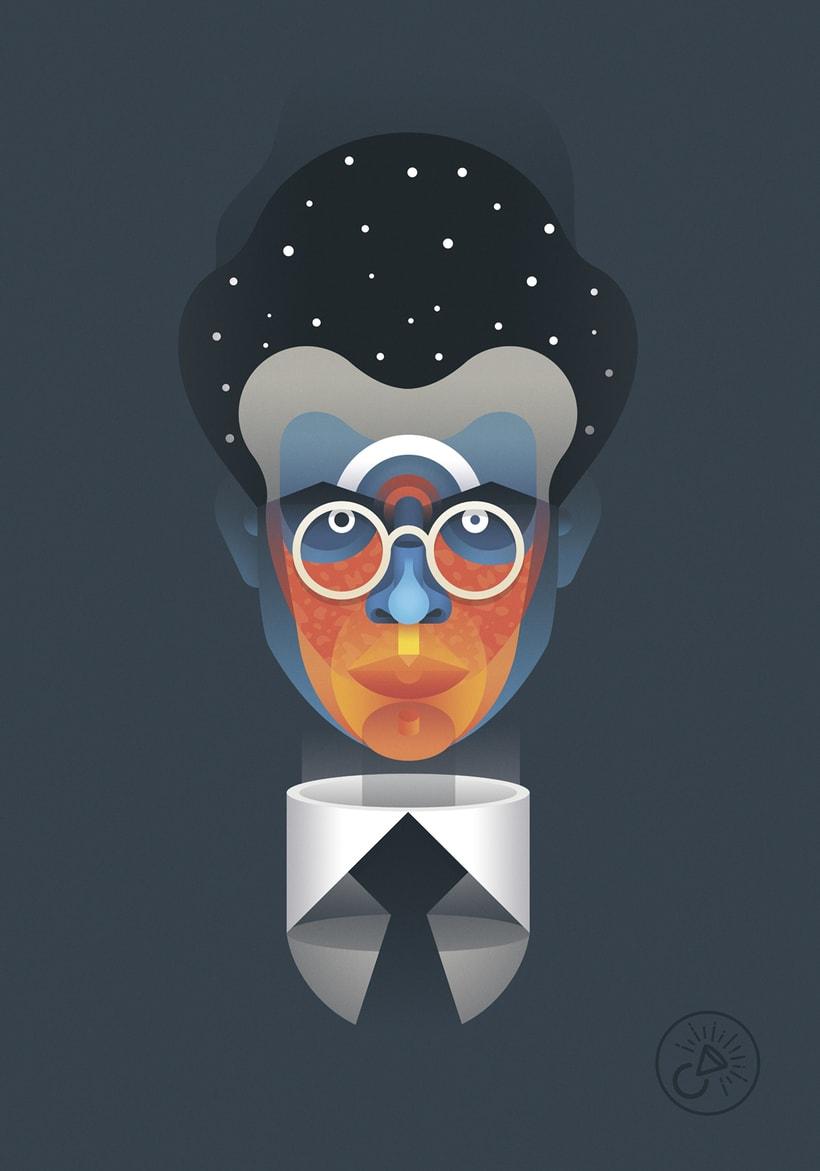 Aldous Huxley portrait 1