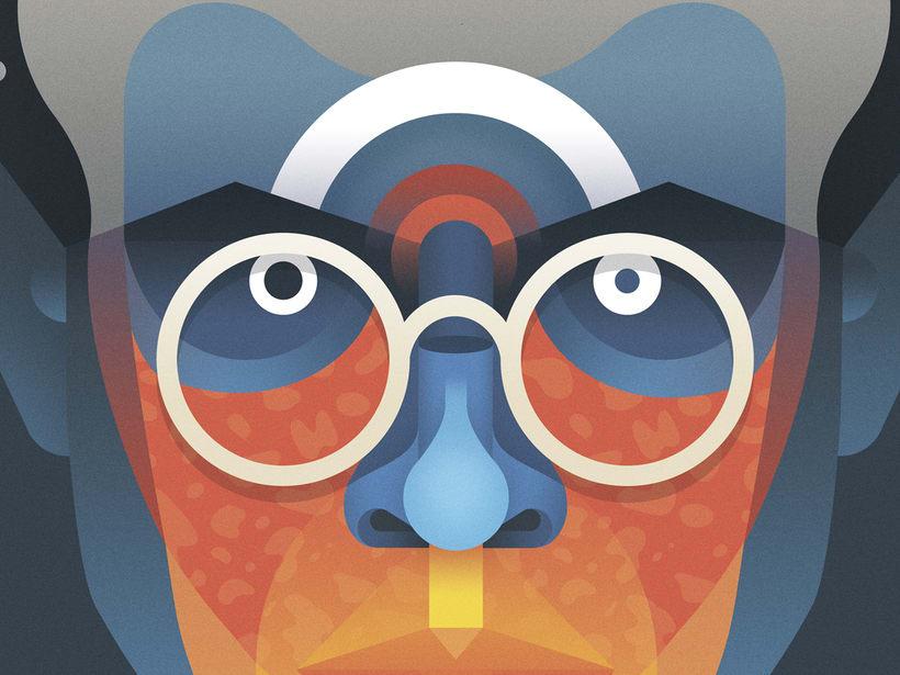 Aldous Huxley portrait 2