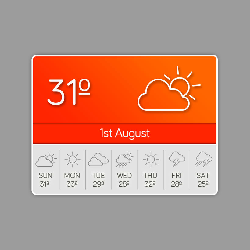 Weather Icons 4