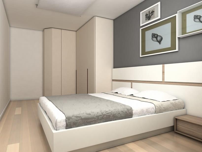 Distribuci n y dise o de mobiliario de dormitorio adulto for Mobiliario de dormitorio