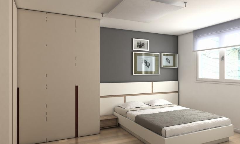 Distribución y diseño de mobiliario de dormitorio adulto 0