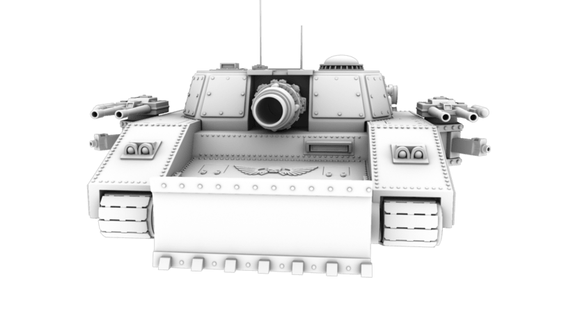 Warhammer 40K: Space Marines Tank 0