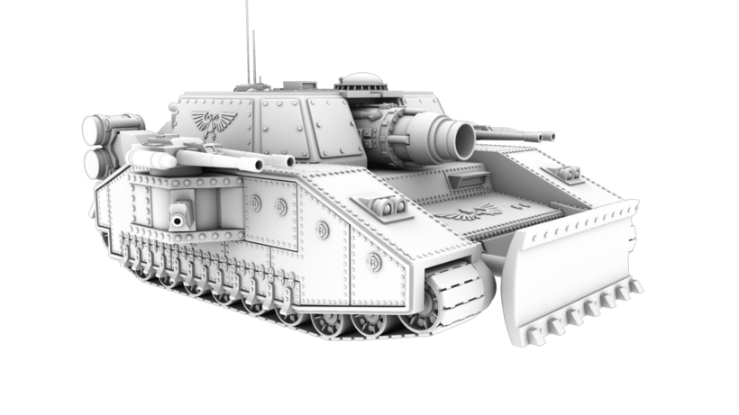Warhammer 40K: Space Marines Tank 1