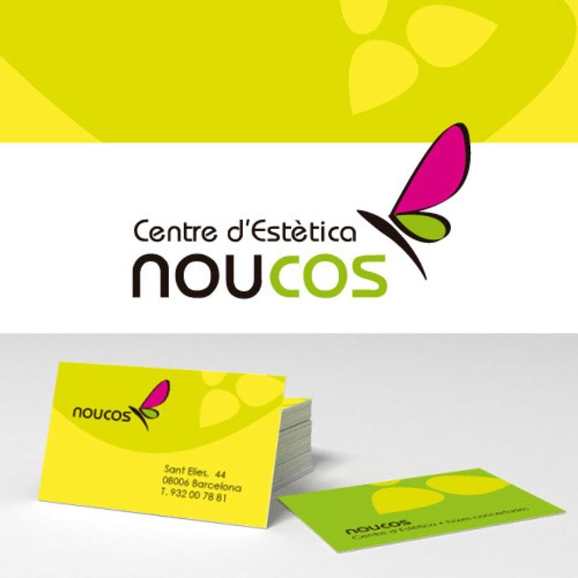 Logotipo e imagen corporativa NouCos -1