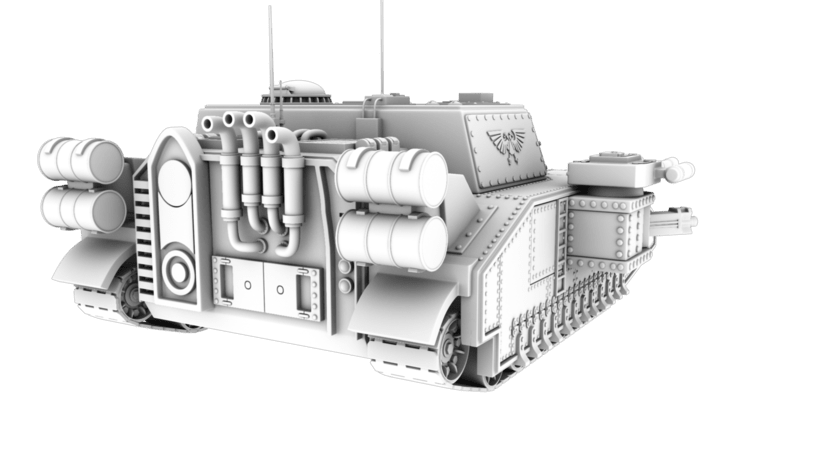 Warhammer 40K: Space Marines Tank 2