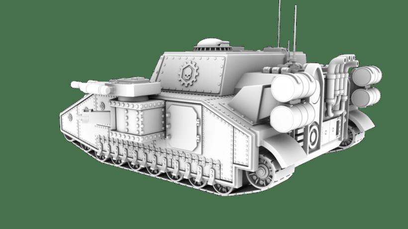 Warhammer 40K: Space Marines Tank 3