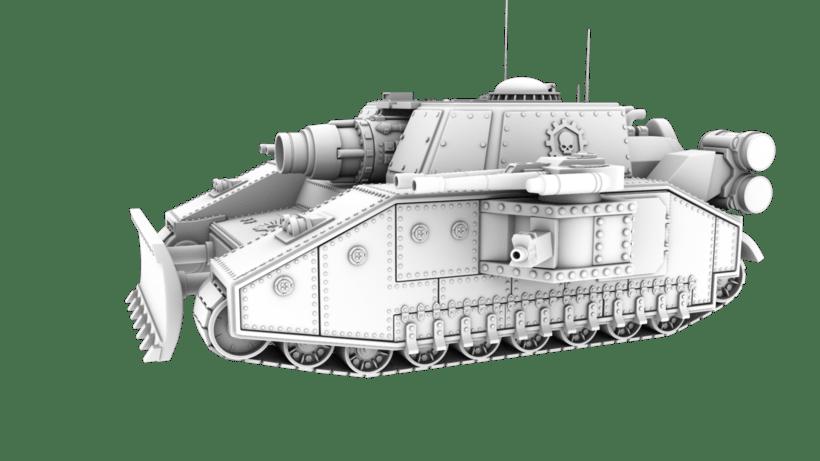 Warhammer 40K: Space Marines Tank 4