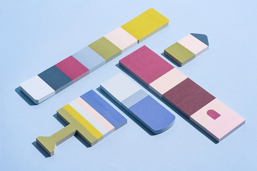 Sticky notes for Normann Copenhagen 2