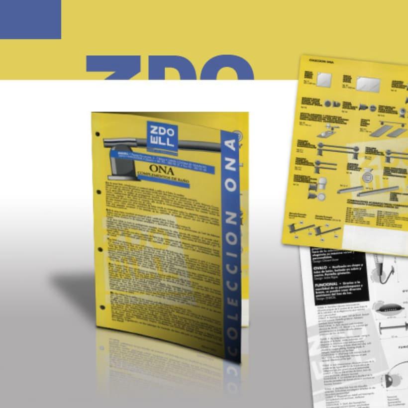 Línea de publicaciones publicidad para firma de iluminación -1