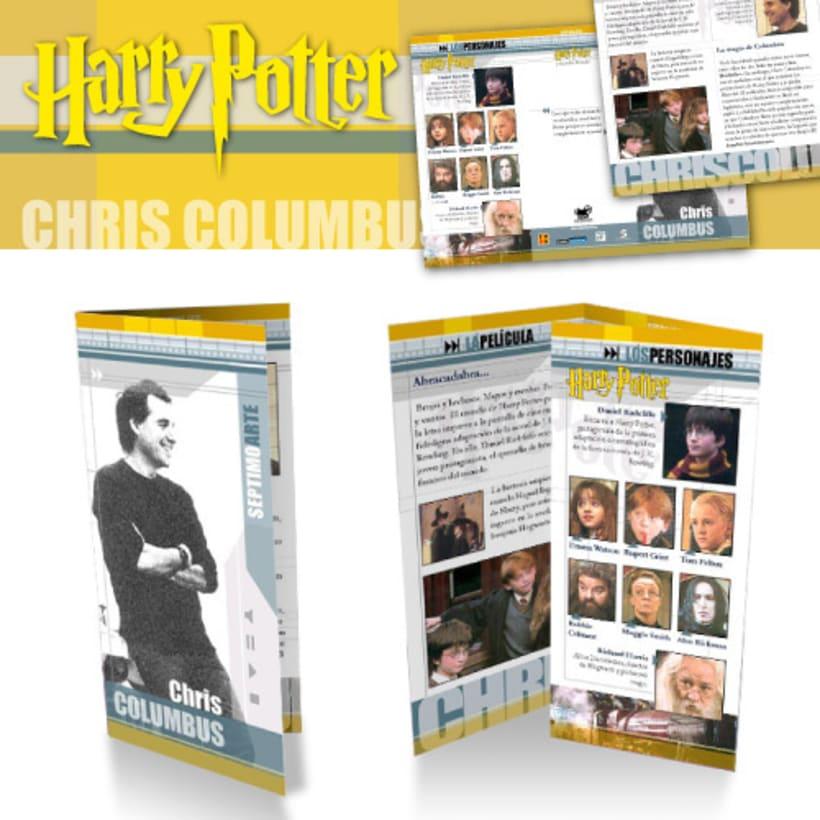 Tríptico sobre la primera entrega de Harry Potter -1