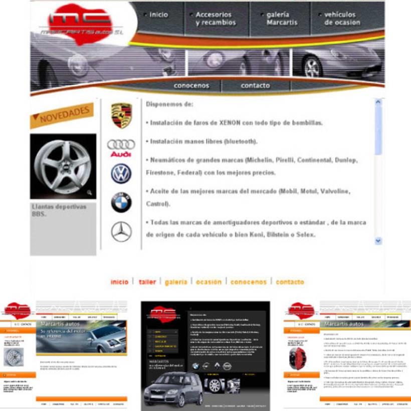 Sitio web Marcartis y algunas otras opciones de diseño -1