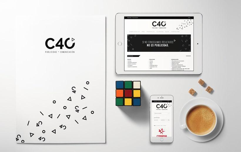 C40 Publicidad * Comunicación | Identidad Corporativa + Web Responsive -1