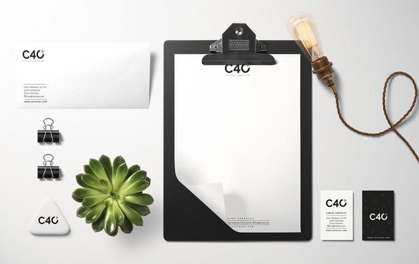 C40 Publicidad * Comunicación | Identidad Corporativa + Web Responsive 0