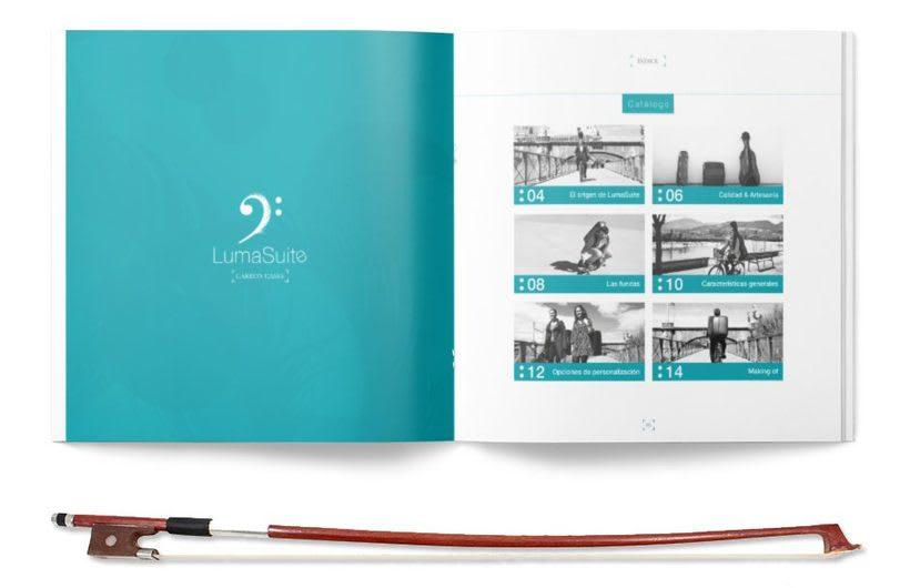 Lumasuite | Catalogo publicitario 1