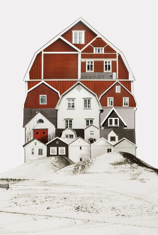 El collage urbano de Anastasia Savinova 1