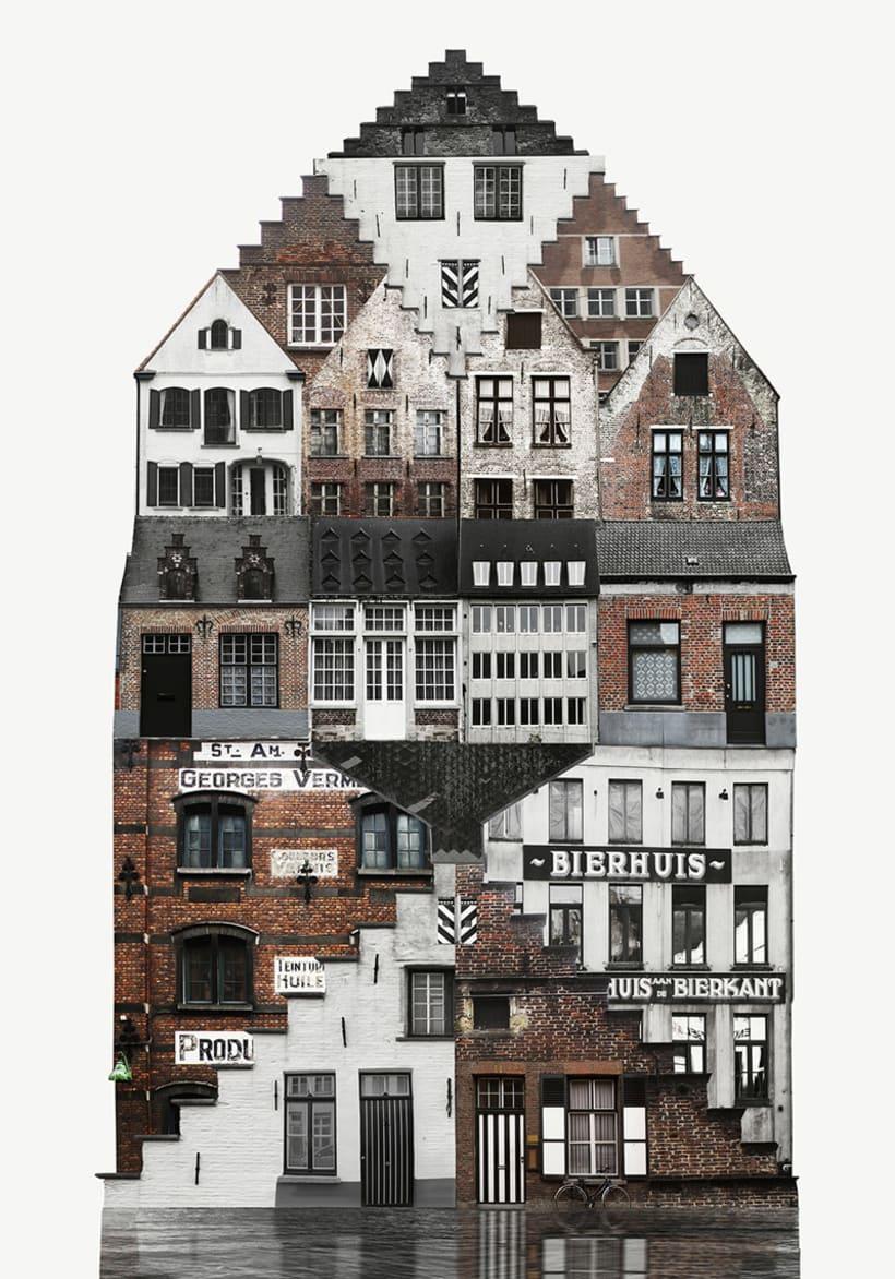 El collage urbano de Anastasia Savinova 4