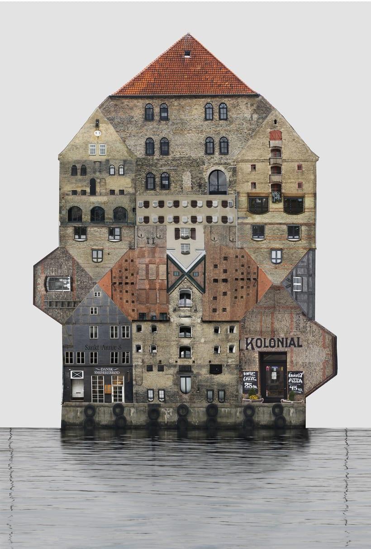 El collage urbano de Anastasia Savinova 6