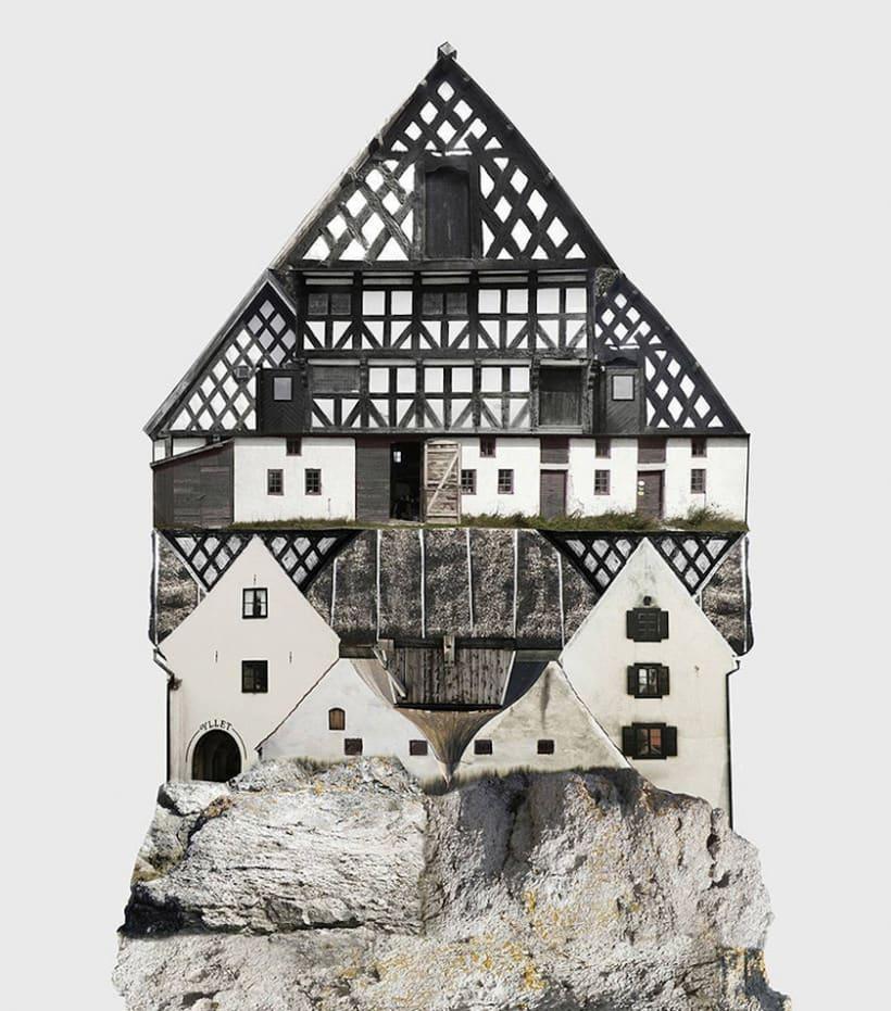 El collage urbano de Anastasia Savinova 9