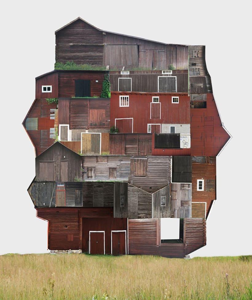 El collage urbano de Anastasia Savinova 11