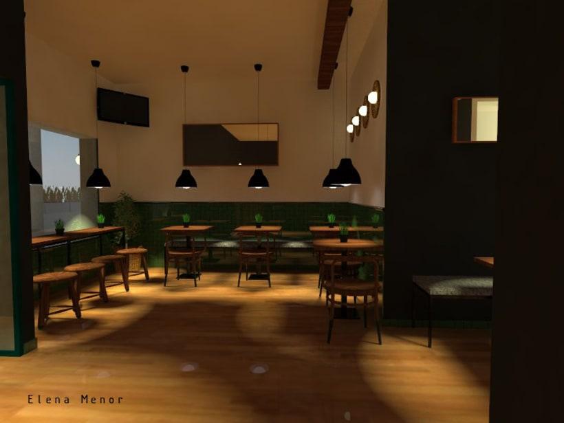 Propuesta proyecto renovaci n bar cafeter a domestika - Proyecto bar cafeteria ...
