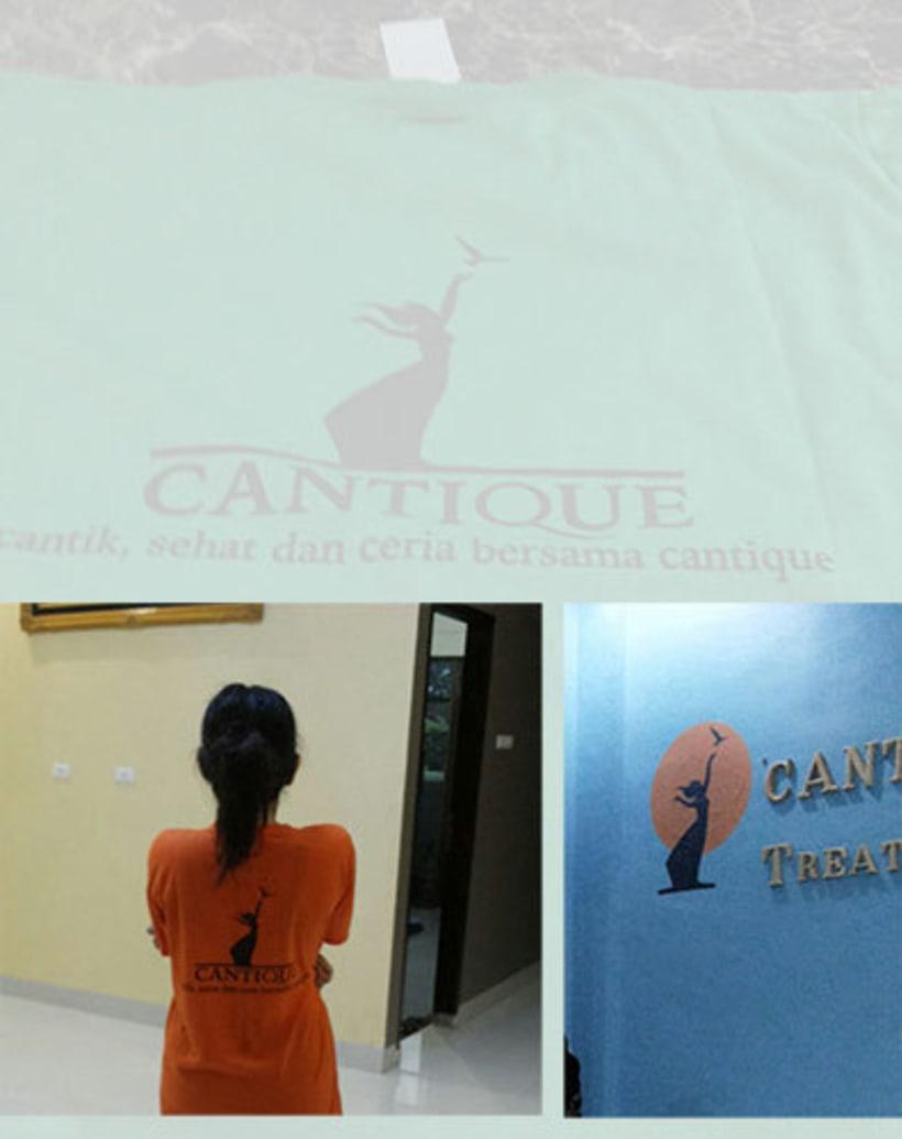 Diseño de marca para Centro de salud y estética en Indonesia 2