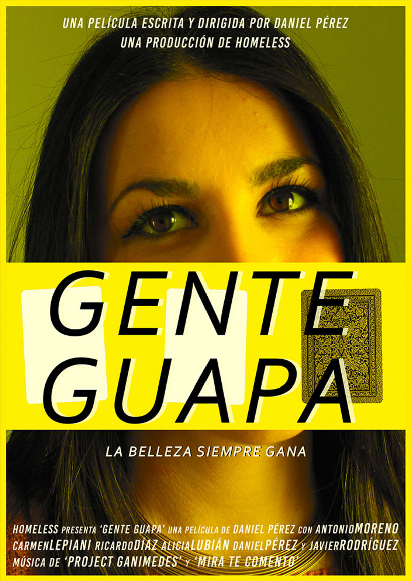 'GENTE GUAPA' Cortometraje. 1