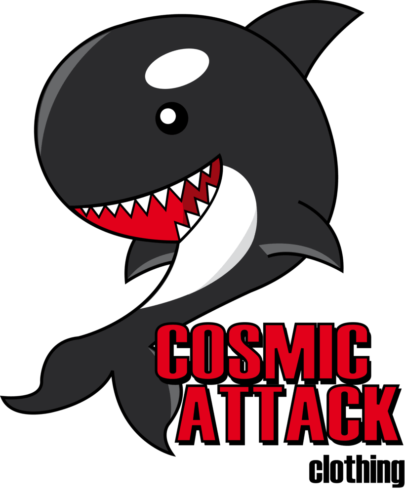 Cosmic Attack! (T-shirt project) -1