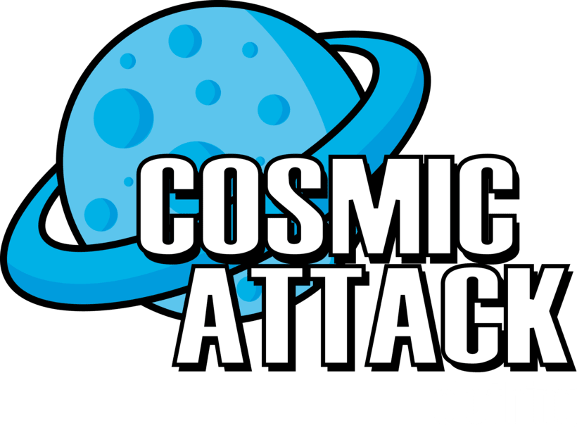 Cosmic Attack! (T-shirt project) 1