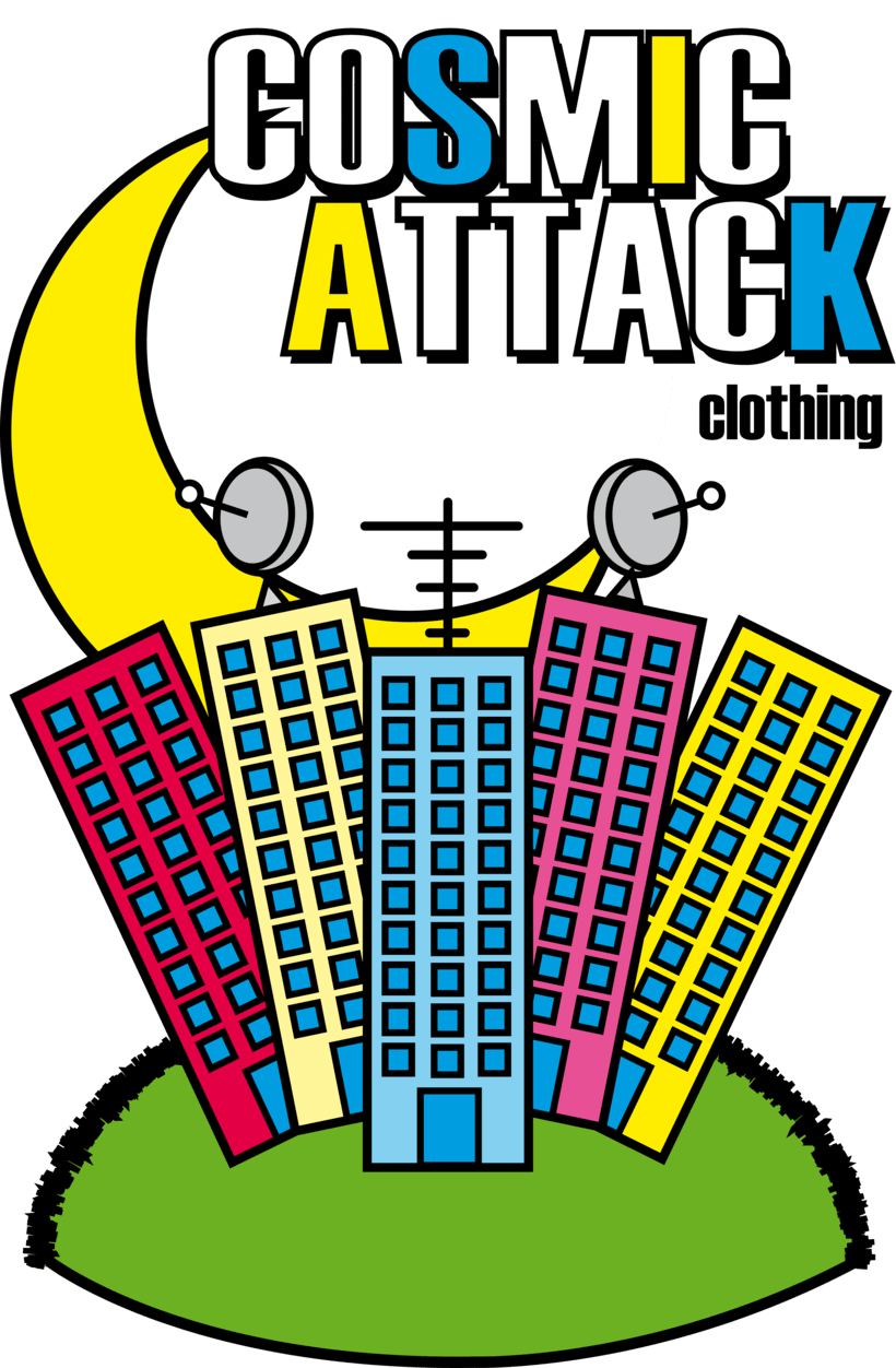Cosmic Attack! (T-shirt project) 2