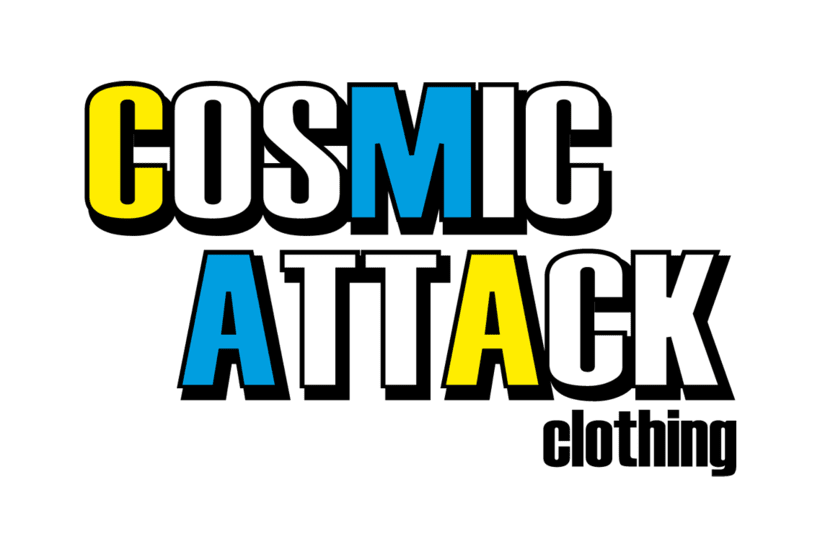 Cosmic Attack! (T-shirt project) 3