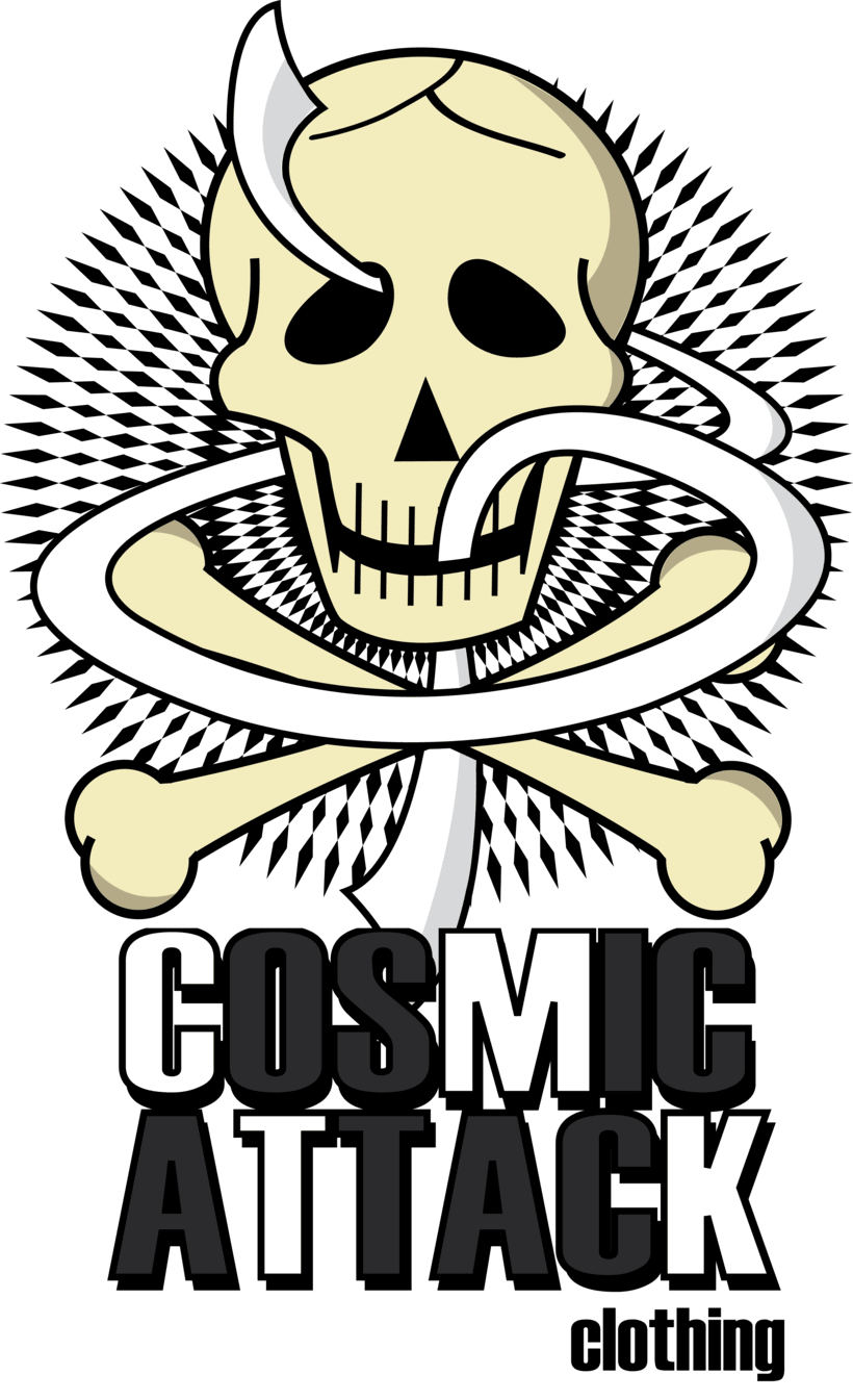 Cosmic Attack! (T-shirt project) 4