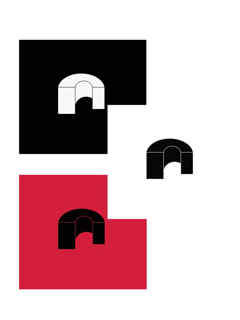 Mi Proyecto del curso: Identidad corporativa bi y tridimensional /BBC/OUKA 2