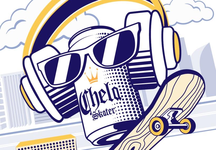 Chela Skater 3