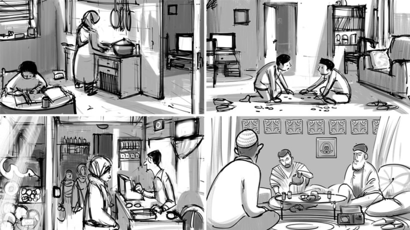 He named Me Malala,  Concept Art, Illustration and Storyboards  4