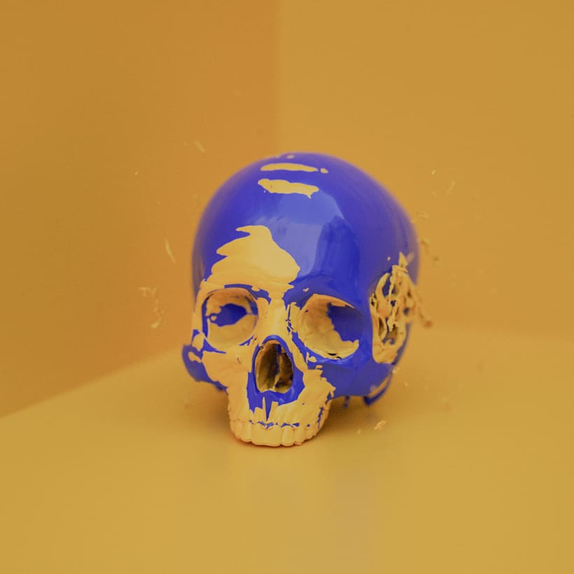 Skull Paint Series -1