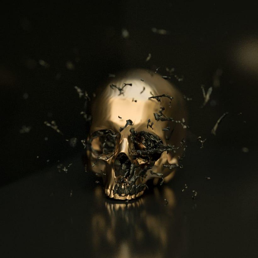 Skull Paint Series 0