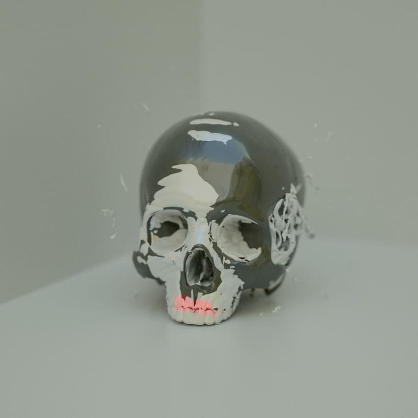 Skull Paint Series 1