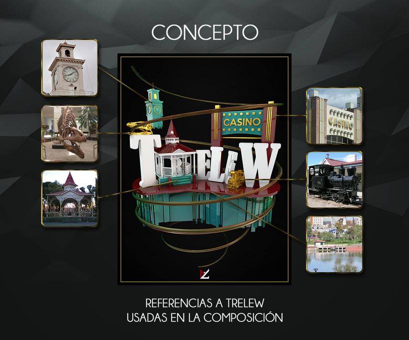 Mi Proyecto del curso: Dirección de Arte con Cinema 4D (Trelew - Chubut) 2