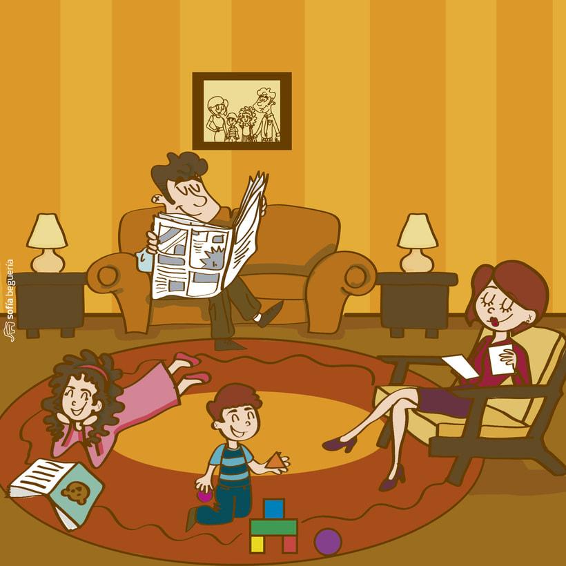 Ilustraciones Día de la Madre ONK® 0