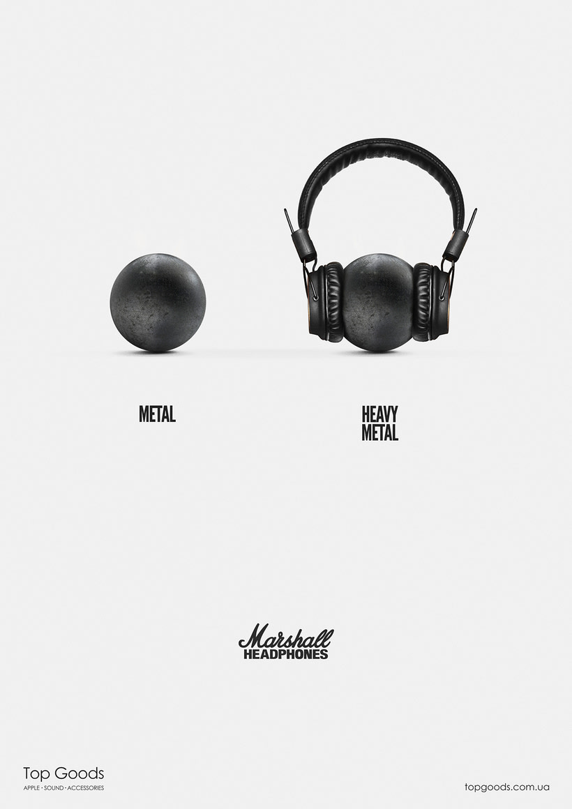 MARSHALL HEADPHONES / CANNES YOUNG LIONS  2
