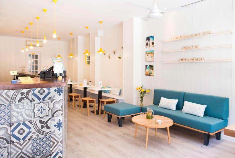 Fotografía de interior - Subtítulos café 0
