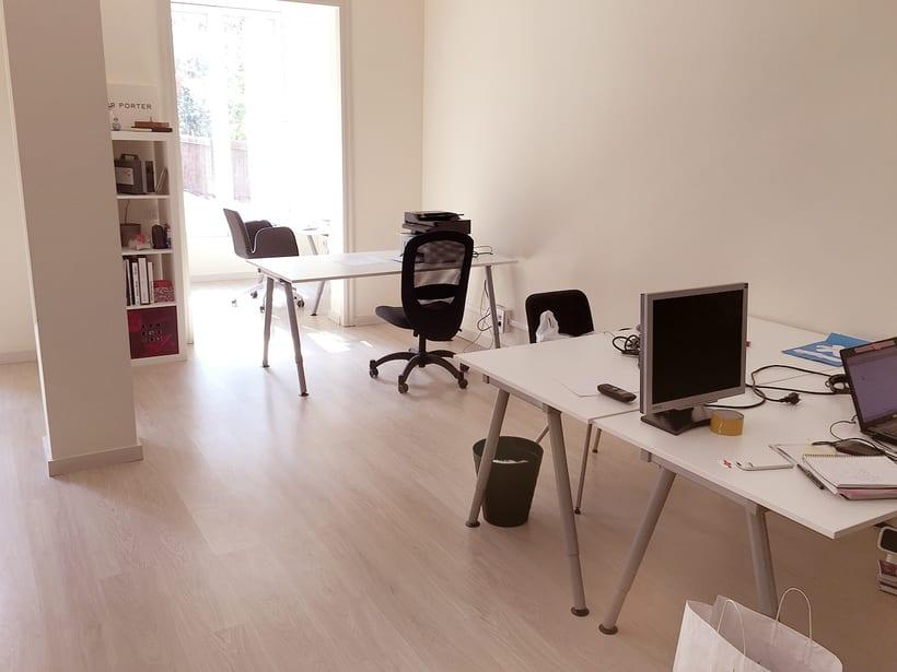 Espacio de trabajo compartido bonito, tranquilo y con jardin privado en Barcelona  1
