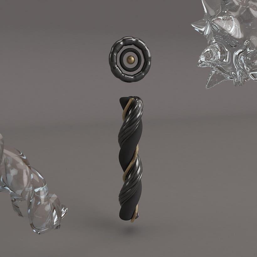 Prácticas del curso: Diseño de personajes en Cinema 4D: del boceto a la impresión 3D 2